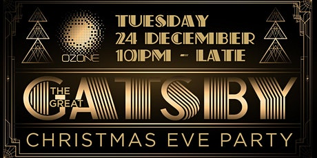 """""""The Great Gatsby"""" Christmas Eve Party tickets"""