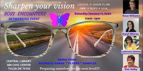 Sharpen Your Vision tickets