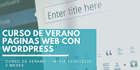 Seminario inicial: Tu propia empresa de paginas web con WordPress entradas
