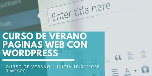 Seminario inicial: Tu propia empresa de paginas web con WordPress