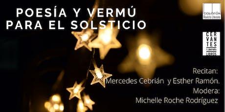 Poesía y vermú para el solsticio entradas