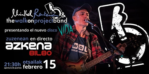 Concierto Mikel Renteria & The Walk On Project Band