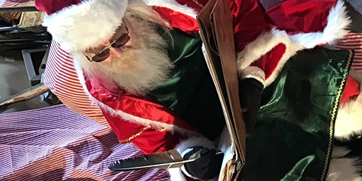 Saturday Breakfast & StoryTime with Santa at Echo Hill Farm's North Pole Experience