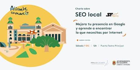 Charla SEO Local Mejora tu presencia en Google CENTRO entradas