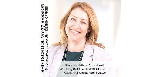 "We77-Session mit Katharina Krentz zum Thema ""Working Out Loud"""