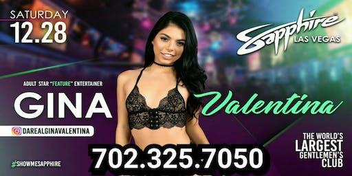 (Gina Valentina) Sapphire Las Vegas Gentlemans Club
