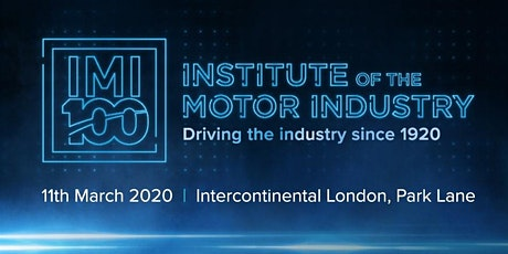 IMI Centenary Dinner 2020 tickets