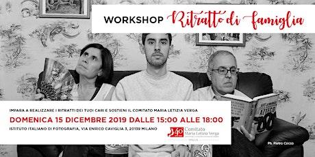 Workshop di ritratto di famiglia biglietti