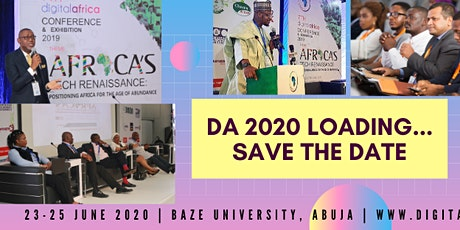 Digital Africa Conference & Exhibition 2020 tickets