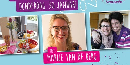 Ladiesnight I'll carry you, met Marije van den Berg