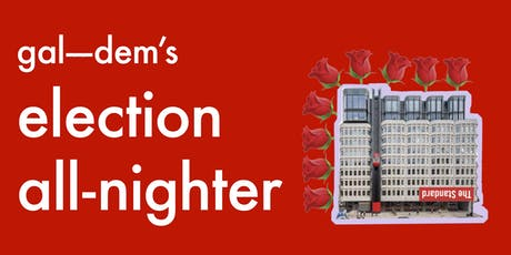 gal-dem's election all-nighter tickets