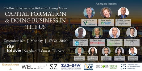 CAPITAL FORMATION & DOING BUSINESS IN THE US tickets