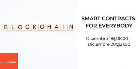 Smart Contracts For Everybody entradas