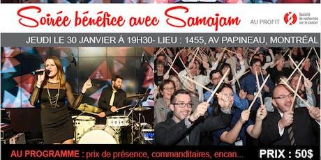 Soirée Bénéfice avec Samajan pour la SRC tickets