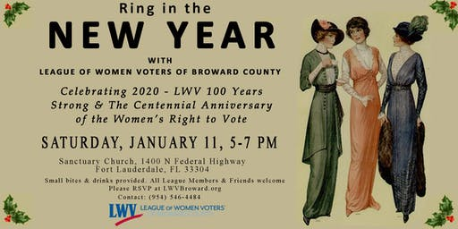 Ring in the New Year with the League of Women Voters Broward County