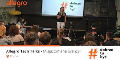 Allegro Tech Talks: Misja zmiana branży - Projektant i Badacz UX