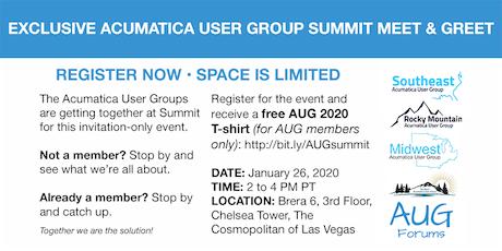 Acumatica User Group Summit Meet & Greet tickets