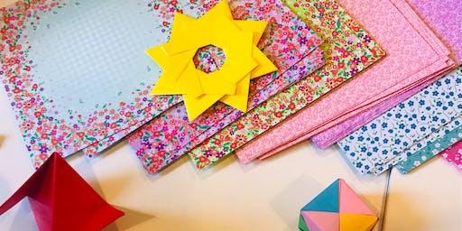 Family Christmas Origami Workshop