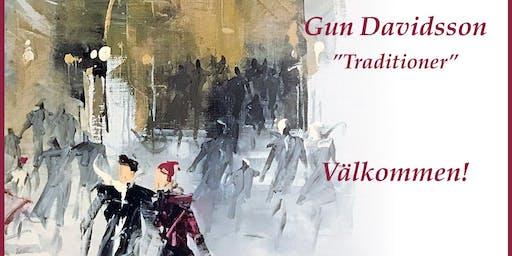 """GUN DAVIDSSON - """"Traditioner"""" Utställning på Galleri Upsala"""