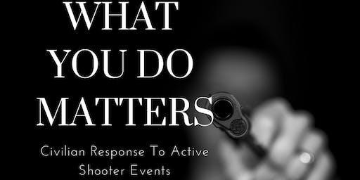 Civilian Response to Active Shooter C.R.A.S.E. (ALERRT)