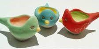 Ceramic Egg Cup -  pop up workshop