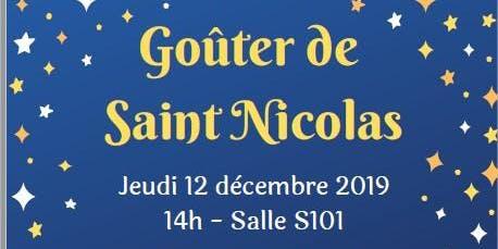 Goûter de Saint Nicolas