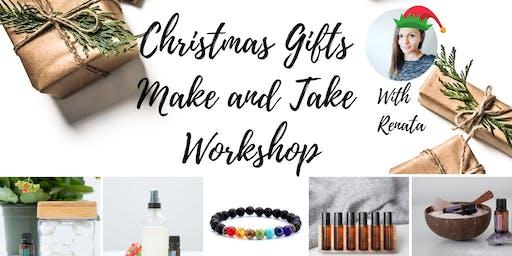 Christmas Gifts Make and Take Workshop