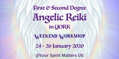 Angelic Reiki I & II, Attunement Workshop, YORK tickets