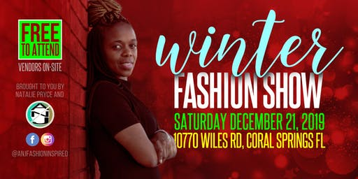 Winter Fashion Show 2019 presented by ANJ Fashion Inspired