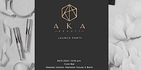 AKA Beauty Launch Party - the melanin beauty subscription box service tickets
