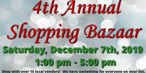 4th  Annual  Holiday  Shopping Bazaar