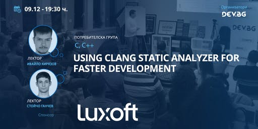 C++: Using Clang Static Analyzer for faster development