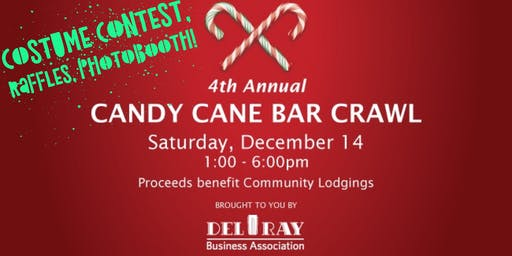4th Annual Del Ray Candy Cane Bar Crawl