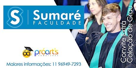 EXTRA SUMARÉ - 08/04/2020 ingressos