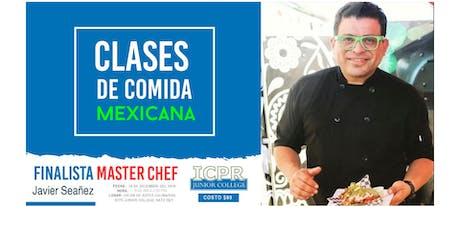 Clase de Cocina Mexicana por Javier Seañez entradas