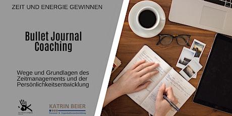 Bullet Journal Coaching - Persöhnlichkeitsentwicklung und Zeitmanagement Tickets