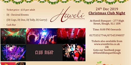 Christmas Club Night tickets