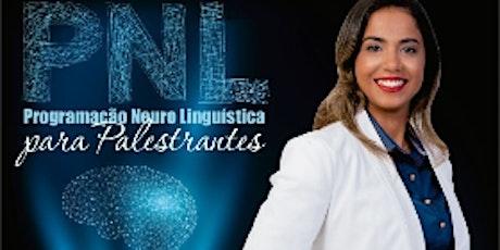 Formação Programação NeuroLinguística PNL para Palestrantes - Zandra Daiane bilhetes