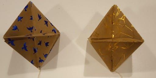 Christmas workshop - origami