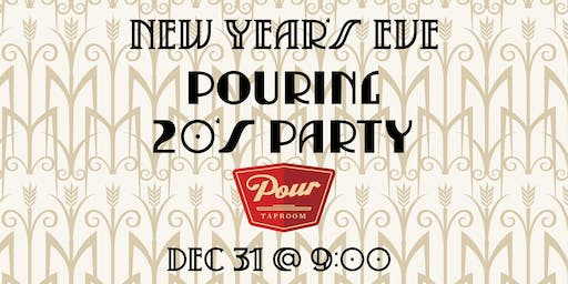 Pouring 20's Party