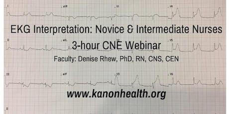 EKG Interpretation for Nurses Webinar tickets