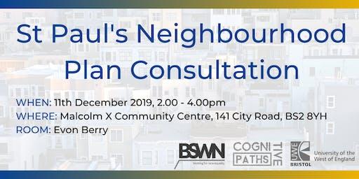 St Paul's Neighbourhood Plan Consultation
