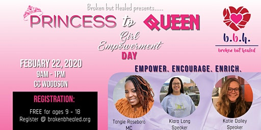 2nd Annual Princess to Queen Girl Empowerment Day