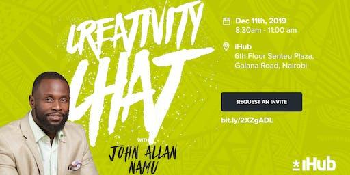 Creativity Chat with John Allan Namu