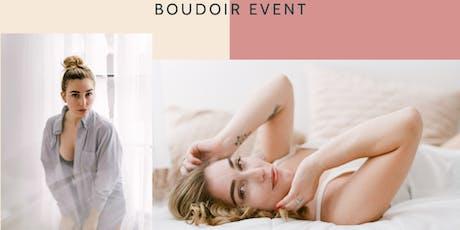 The Boudoir Experience at Wedding Boston Bridal Loft tickets