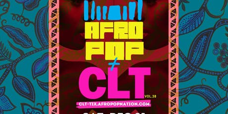 AfroPop! Charlotte, Vol.38: Afrobeats, Soca, Live Drums & More! tickets