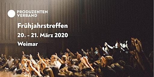 Produzentenverband Frühjahrstreffen 2020 in Weimar