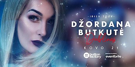 Džordana Butkutė - DUBLIN tickets
