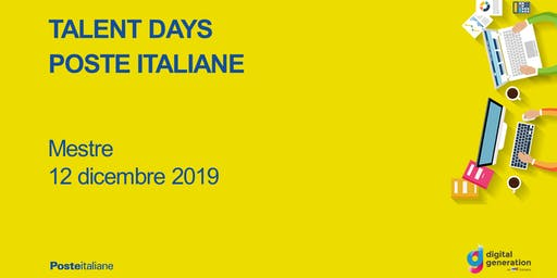 Talent Day Poste Italiane / Mestre