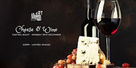Wine & Cheese Tasting Night tickets